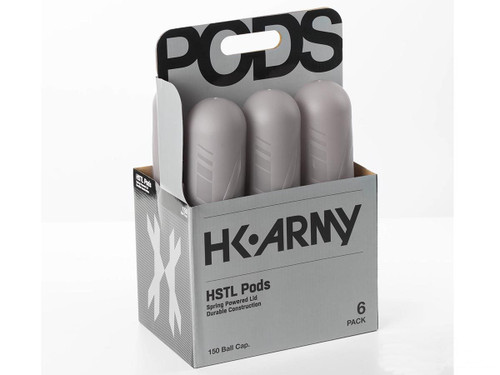 HK Army HSTL 150 Round Paintball Pod 6 Pack