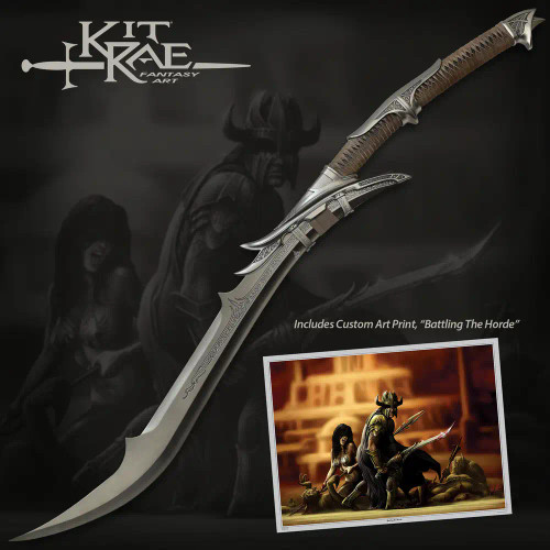 Kit Rae Mithrodin: Dark Edition Fantasy Sword