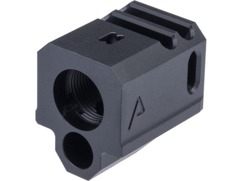RWA Agency Arms 417 Dual Port Compensator for Elite Force GLOCK Series Gas Blowback Airsoft Pistols
