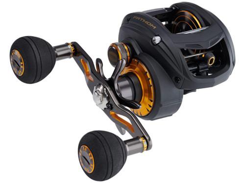 Penn Fathom Low Profile Baitcast Fishing Reel (Model: FTH400LPLH)