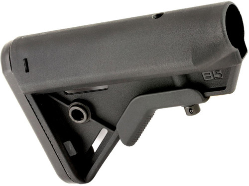 B5 Systems SOPMOD BRAVO Retractable Stock for AR15 Rifles (Model: Mil-Spec / Quick Detach Mount)