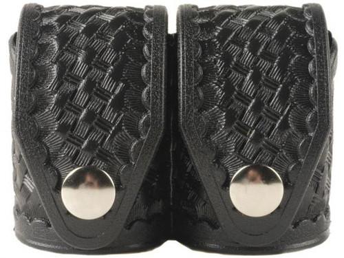 Double Speed Loader Case Large Basketweave