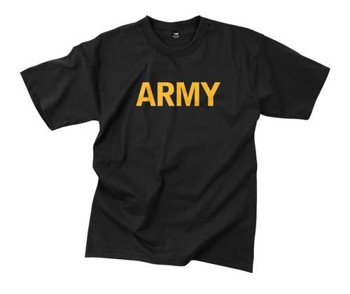 T-Shirt Army - Black