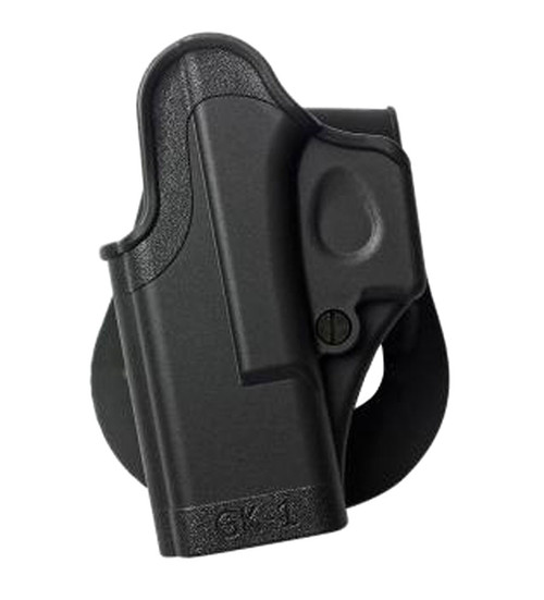 Glock 17/22 LH Level 1 One Piece Paddle Holster
