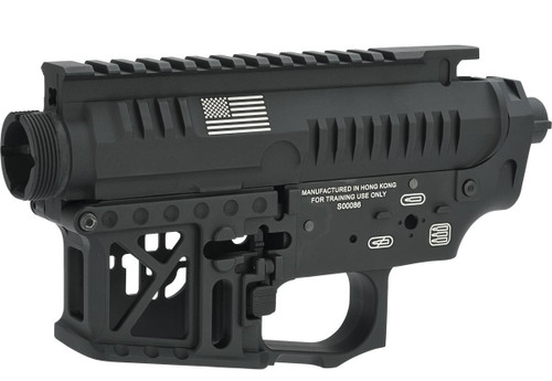 """G&P CNC Machined """"Signature"""" Competition Style Metal Body for M4 Series AEGs (Color: Black)"""