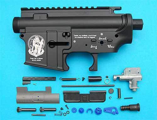 """G&P """"Widow Maker"""" Limited Edition Metal Body for M4 / M16 Series AEG."""