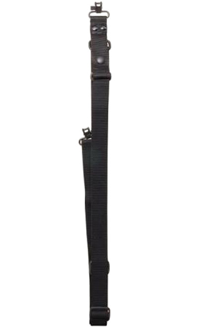 """Tactical Sling 1.25"""" Black Single Point"""