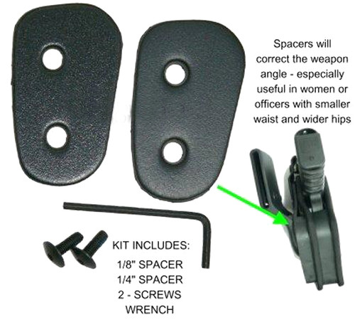 Spacer Pack For Jacket Slot Holsters
