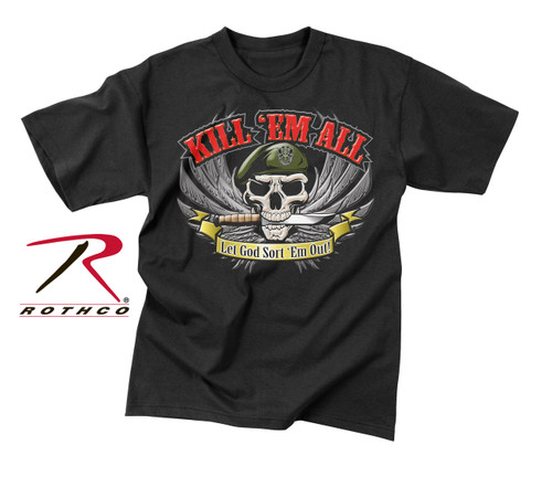 Kill 'Em All T-Shirt - Black