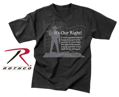 """Vintage """"It's Our Right"""" T-Shirt"""