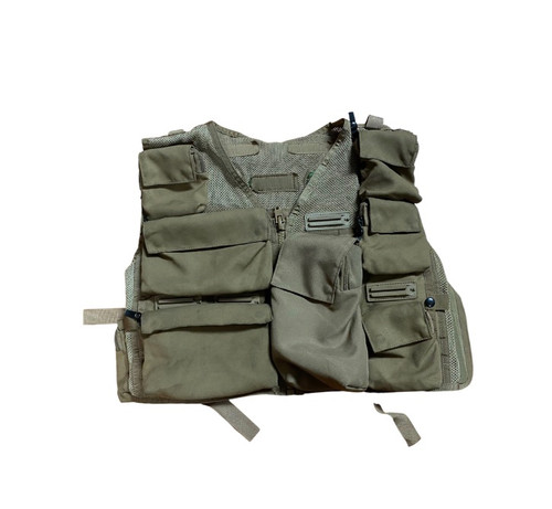 Survival Air Ace Snap Track Vest w/ Pouches  (Includes Extra Pouches)