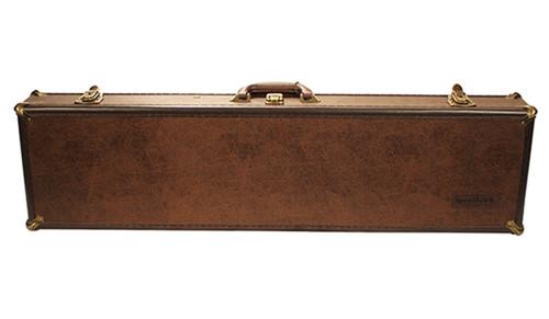 Leatherlock Takedown Deluxe Shotgun Case Brown
