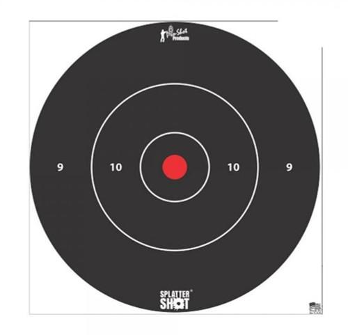 "Splatter Shot 12"" White 5/Pkg Heavy Tag Paper"