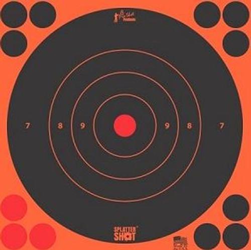 "Splatter Shot 12"" Orange Target 5/Pkg"