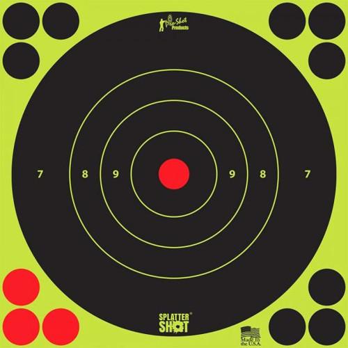 "Splatter Shot 12"" Green 5/Pkg Heavy Tag Paper"