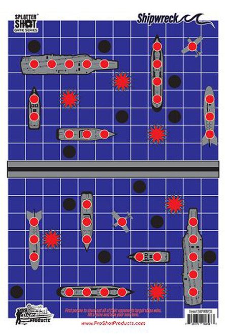 Splatter Shot Game Series Shipwreck 8Pk