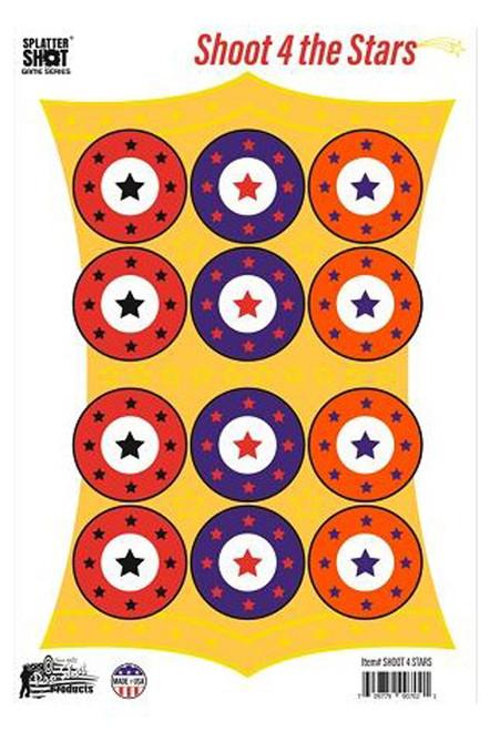 Splatter Shot Game Series Shoot 4 The Stars 8Pk