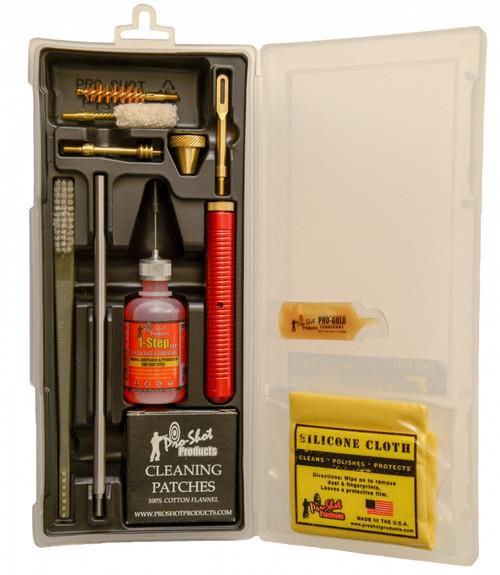 38-357 Cal/9mm Pistol Box Cleaning Kit