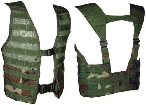 U.S. Armed Forces Woodland M.O.L.L.E II Fighting Load Carrier Vest