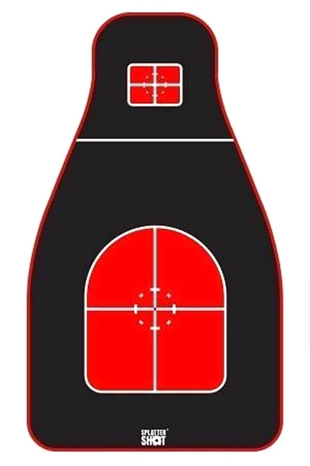 Tactical Precision Target Red/Black 8/Pack