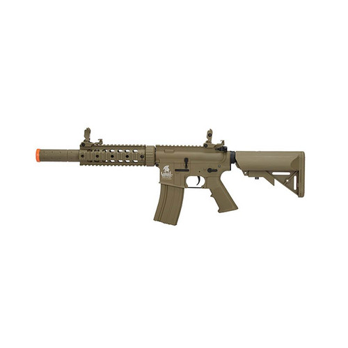 Lancer Tactical Airsoft Polymer M4 Gen 2 SD AEG Rifle - Tan