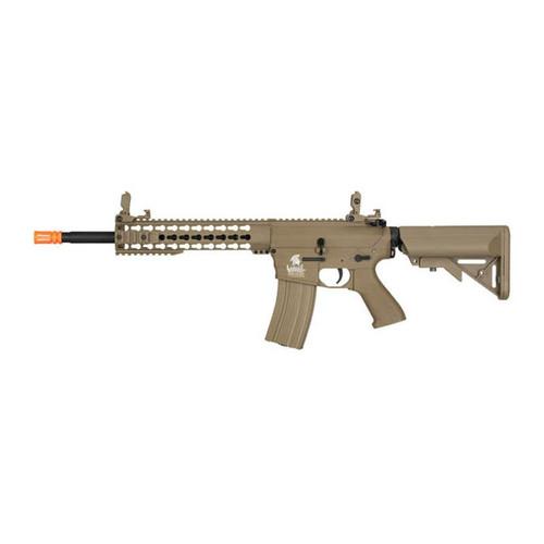 Lancer Tactical M4 KeyMod Gen 2 EVO AEG Airsoft Rifle - Tan