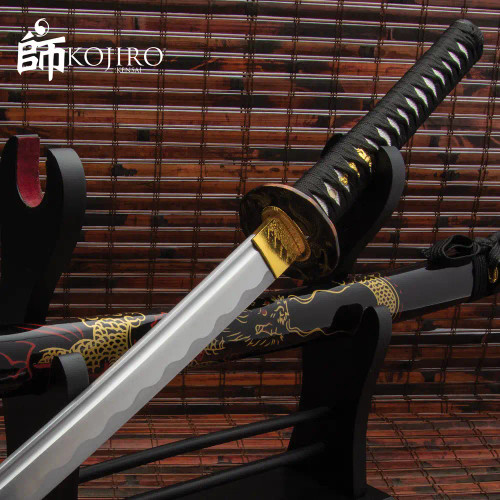 Kojiro Golden Dragon Katana And Scabbard