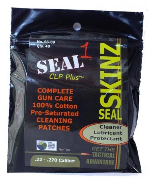 22-270 Cal Seal Skinz Pre-Saturated Cleaning Patches