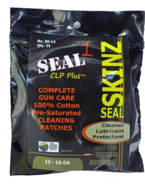 12-16 Ga. Seal Skinz Pre-Saturated Cleaning Patches