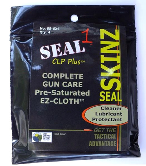 """Sealskinz Pre-Saturated Cleaning Cloth 6""""X6"""""""