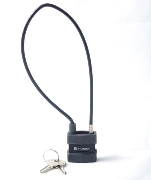 Franzen Keyed Alike Cable Lock