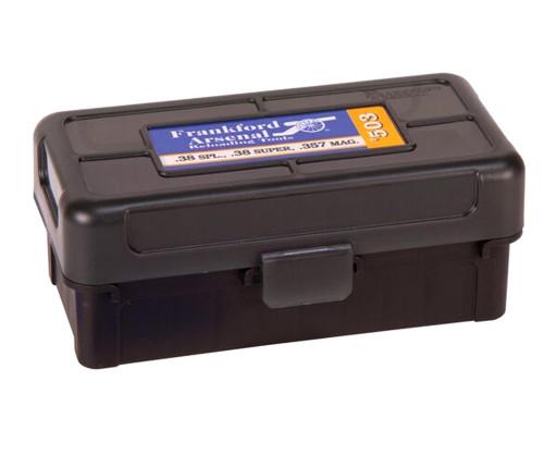 Hinge-Top Ammo Box 503 38/357 50CT