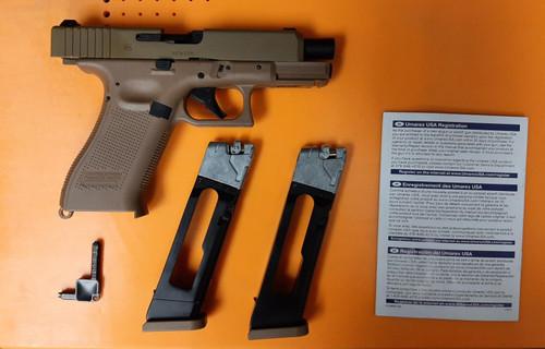 Umarex Glock 19X Airgun Combo - USED