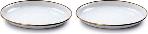 Enamel Salad Plate Set