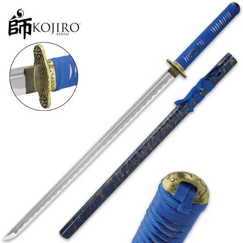 Kojiro Blue Mikado Katana And Scabbard