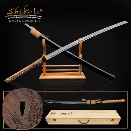 Shikoto Hidden Samurai Katana And Scabbard