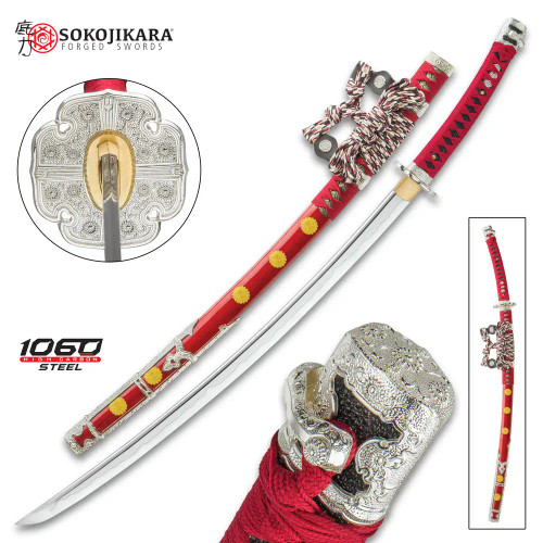 Sokojikara Senzo Handmade Tachi / Samurai Sword