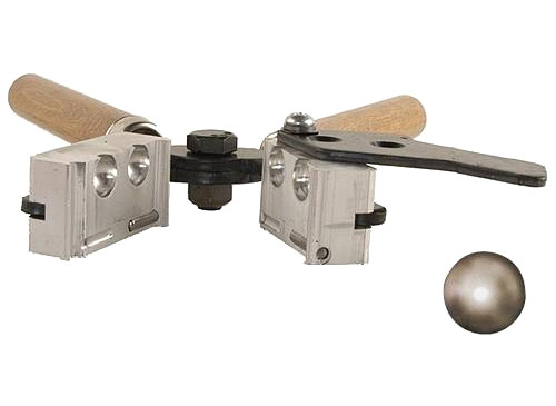 .440 Dia Double Cavity Round Ball Mold