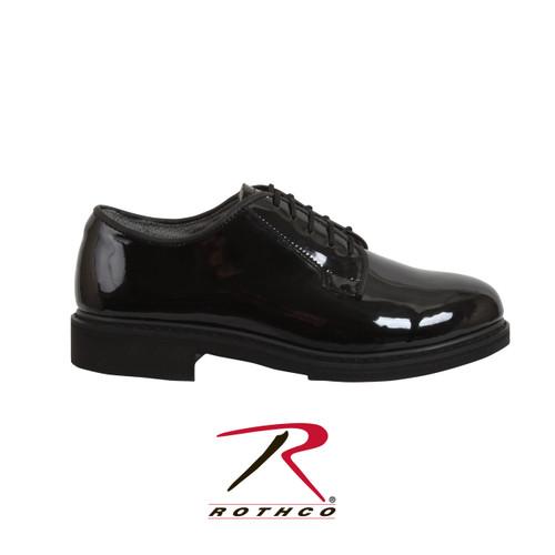 Uniform Hi-Gloss Oxford Dress Shoe