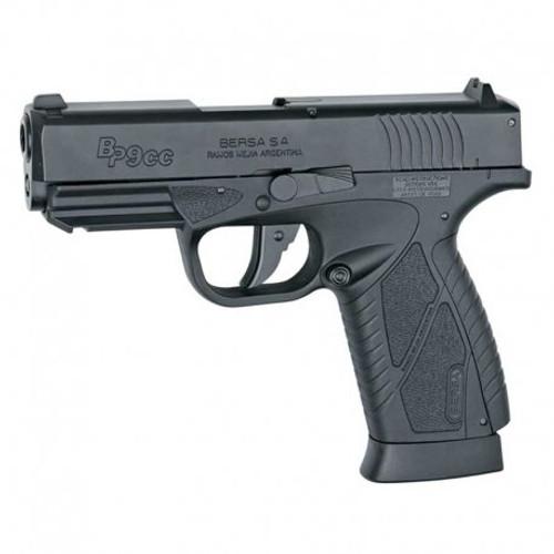 Bersa BP9CC GBB CO2 Airsoft Gun Pistol Black