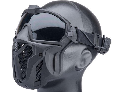 Matrix Tactical Anti Fog Goggle w/ Fan and Lower Face Mask