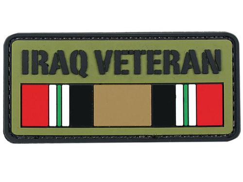 "Voodoo Tactical ""Iraq Veteran"" PVC Hook and Loop Morale Patch"