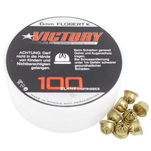 Victory 6mm Crimped Start Blanks - 100pcs