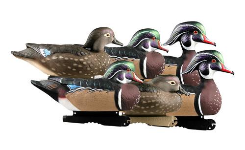 Pro Grade Wood Ducks 6Pk