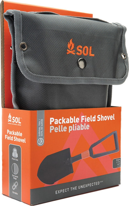 Packable Field Shovel
