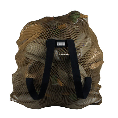 Mesh Decoy Bag Dark Moss - 24 Decoys