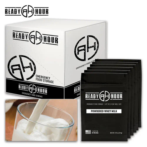 Ready Hour Powdered Whey Milk Case Pack