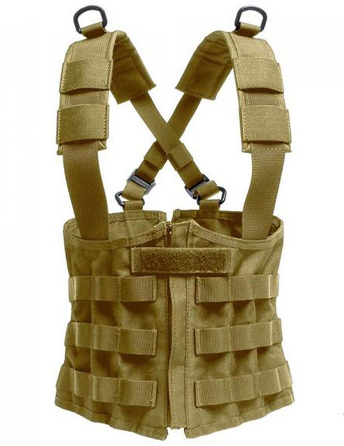 Laylax Battle Style Ladies Tactical Corset Rig Light (Color: Tan)