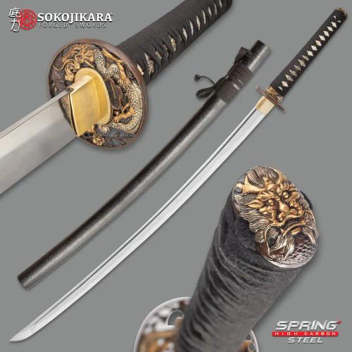 Sokojikara Kengo Golden Dragon Sword