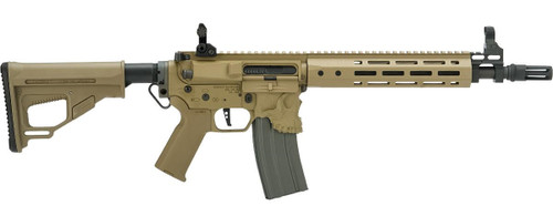"EMG / Sharps Bros ""Jack"" Licensed Full Metal Advanced M4 Airsoft AEG Rifle (Color: Tan / 10"" SBR)"